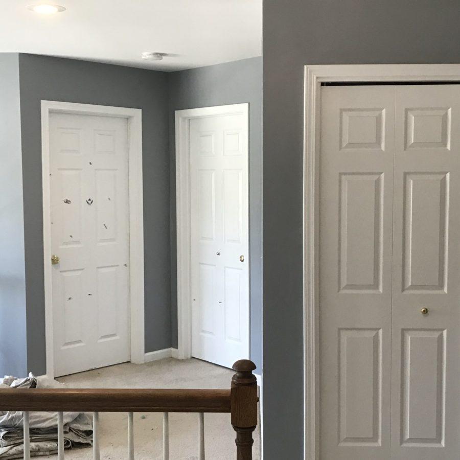 ProSource Painting Interior Hallway Job